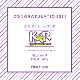 KAR-placement-awards-Im-A-Lady