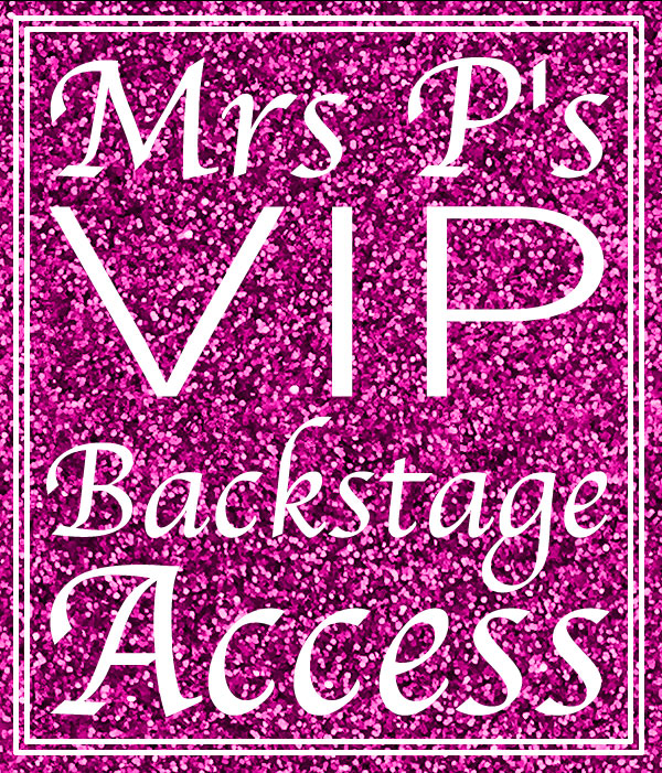 We need backstage moms!