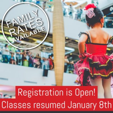 Registration Is Open | Family Rates Available!