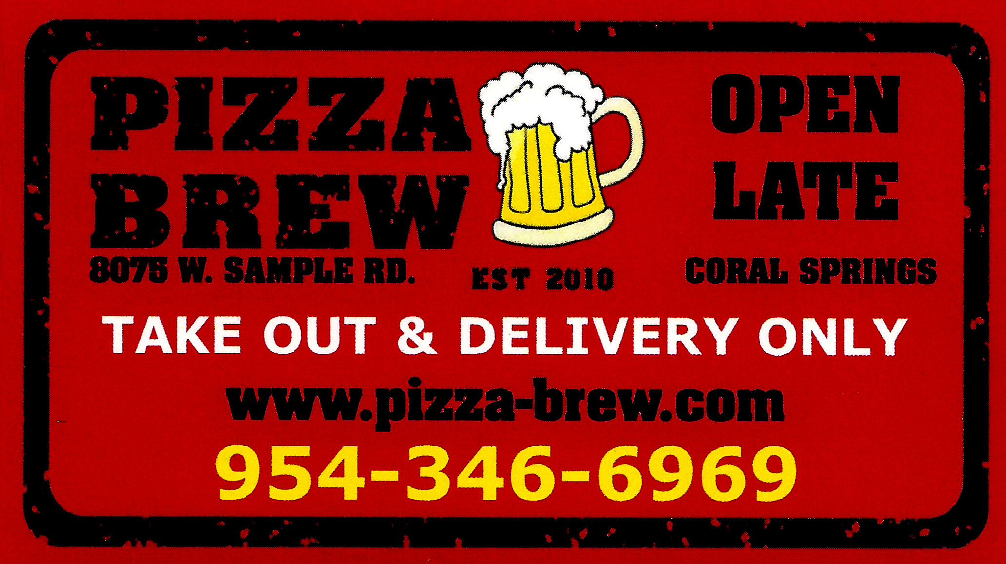 pizza brew