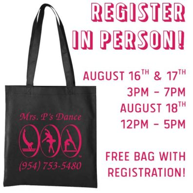 Free Bag with Registration